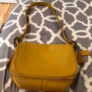 Limited Edition 75 anniversary Coach Saddle Bag